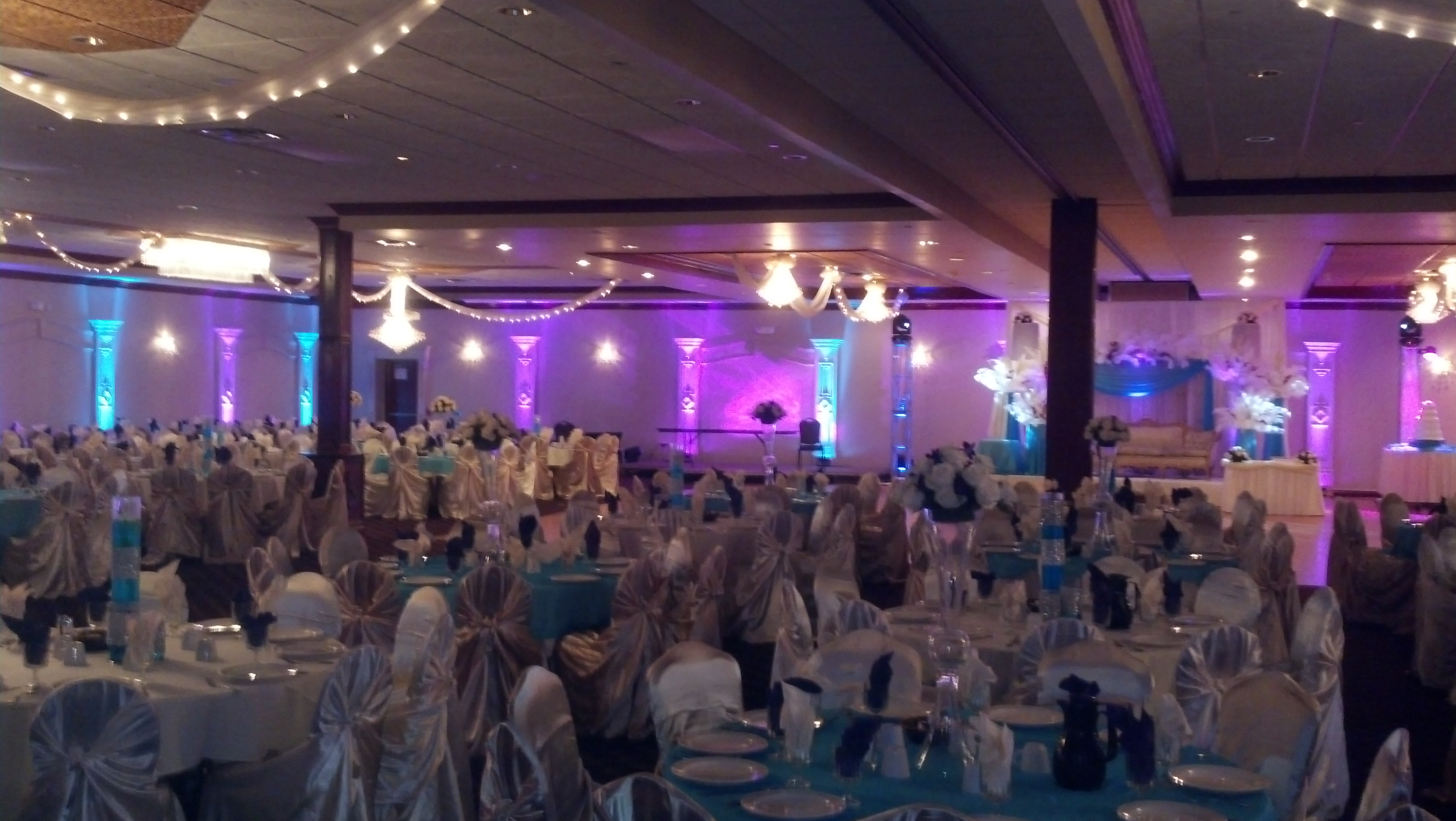 Detroit Wedding Uplighting